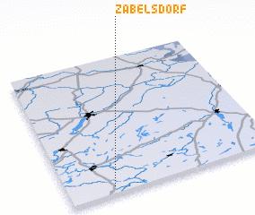 3d view of Zabelsdorf