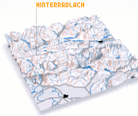 3d view of Hinterradlach