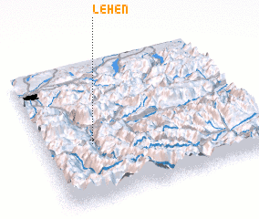 3d view of Lehen