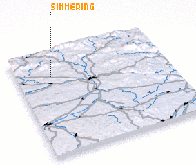 3d view of Simmering