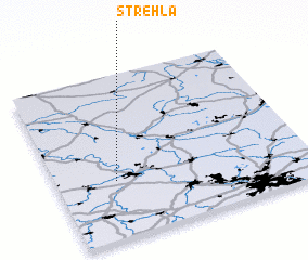 3d view of Strehla