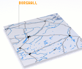3d view of Borgwall