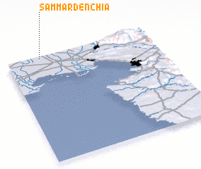 3d view of Sammardénchia