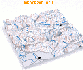 3d view of Vorderradlach