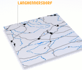 3d view of Langhennersdorf