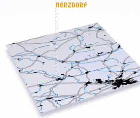 3d view of Merzdorf