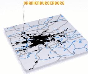 3d view of Oranienburger Berg