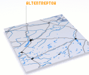 3d view of Altentreptow