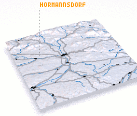 3d view of Hörmannsdorf