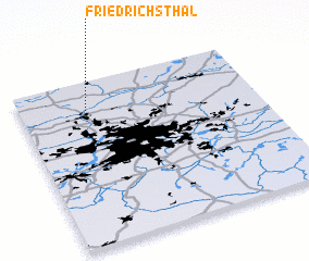 3d view of Friedrichsthal
