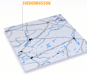 3d view of Siedenbüssow