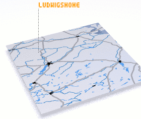 3d view of Ludwigshöhe