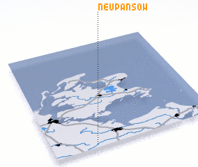 3d view of Neu Pansow