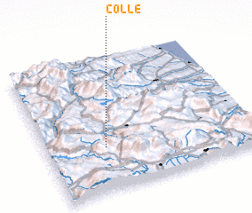 3d view of Colle