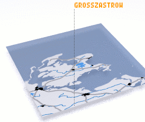 3d view of Groß Zastrow