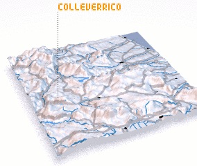 3d view of Colle Verrico
