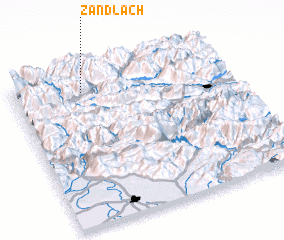 3d view of Zandlach