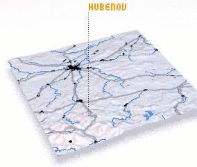 3d view of Hubenov