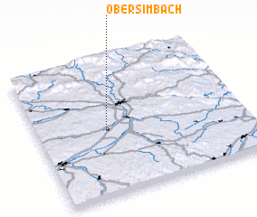 3d view of Obersimbach