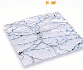 3d view of Plain