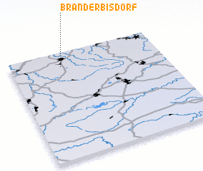 3d view of Brand-Erbisdorf