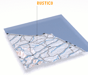 3d view of Rustico