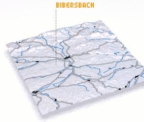 3d view of Bibersbach
