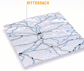 3d view of Mitternach