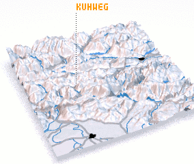 3d view of Kühweg