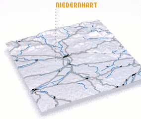3d view of Niedernhart