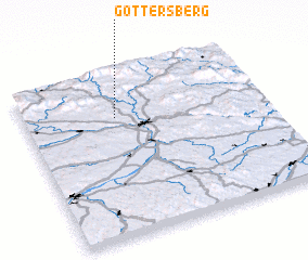 3d view of Göttersberg