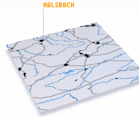3d view of Halsbach
