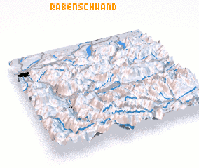 3d view of Rabenschwand