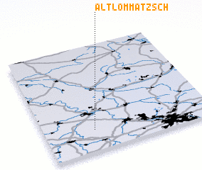 3d view of Altlommatzsch