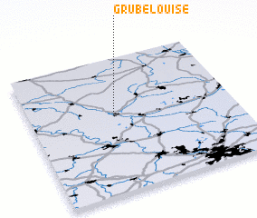 3d view of Grube Louise