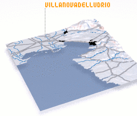 3d view of Villanova del Lúdrio