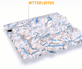 3d view of Mitterleiten