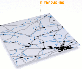 3d view of Niederjahna