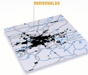 3d view of Marienwalde