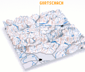 3d view of Görtschach