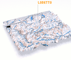 3d view of Loretto