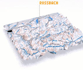 3d view of Russbach