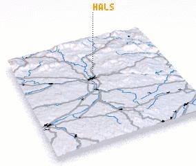 3d view of Hals