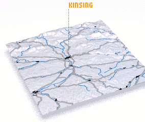 3d view of Kinsing