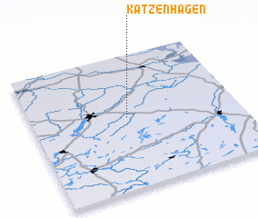 3d view of Katzenhagen