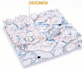 3d view of Koschach
