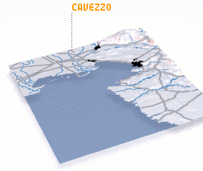3d view of Cavezzo