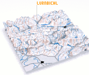 3d view of Lurnbichl