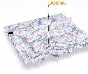 3d view of Löbenau