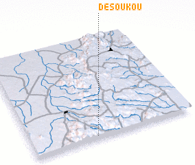 3d view of Désoukou
